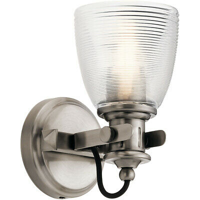 Kichler Lighting 45871CLP Flagship Wall Sconce Classic Pewter