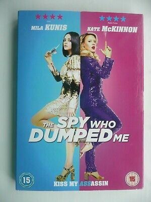 The Spy Who Dumped Me [DVD, 2018) Susanna Fogel, Mila Kunis, with slip cover