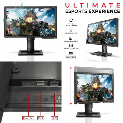 BenQ ZOWIE XL2411P 24 Inch 144Hz Gaming Monitor for Esports, Full HD 1080p,.