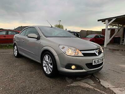 Vauxhall Astra 1.9CDTi Coupe Twin Top Design MOT 12 MONTHS, NEW CLUTCH KIT 2018