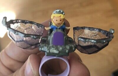 Polly Pocket 1993 Jewel Surprise Ring (ships From US) Complete EUC