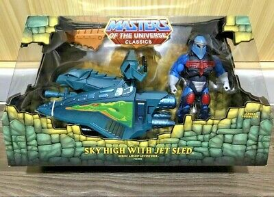 Sky High With Jet Sled - Motuc - Masters Of The Universe Classics - NEW