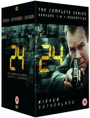 24 - Complete Season 1-8 + Redemption (New Packaging) [DVD], Good DVD, Jude Cicc