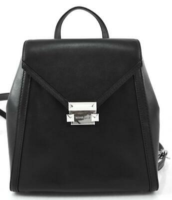 a7780ae9bb32 Authentic New Nwt Michael Kors $328 Leather Whitney Black Medium Backpack