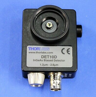 ThorLabs DET10D InGaAs IR Detector  25ns rise time, 0.8mm active size