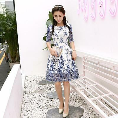 Summer woman dress Lace coat Embroidery Bridesmaid  short  Bandage Bridal gown