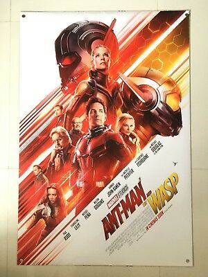 Ant-Man and the Wasp | original DS movie poster 27x40 INTL | Marvel Paul Rudd