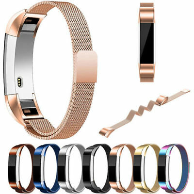 Fitbit Alta HR Stainless Steel Wristband Fitness Tracker Bracelet Watch Strap