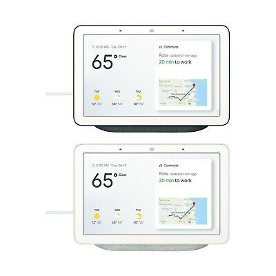 Brand New Google Home Hub in Chalk color still wrapped - GA00516-US