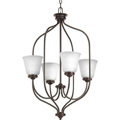 Progress Lighting P3891-20 Keats Antique Bronze Four-Light Chandelier - 94389120