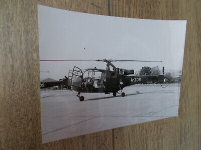 Photo Aviation-Hélicoptère Alouette III - Collection.