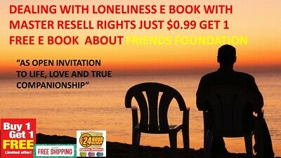 Dealing With Loneliness E Book Pdf Master Resell Rights Just $0.99 & Bonus