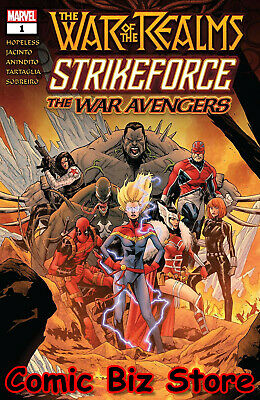 War Of The Realms Strikeforce War Avengers #1 (Of 3) (2019) Jacinto Main ($4.99)