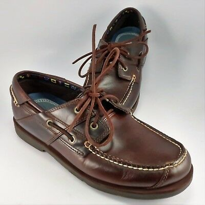Timberland Piper Cover FG Lace Up Brown Leather Mens Boat Shoes A1G8C U14