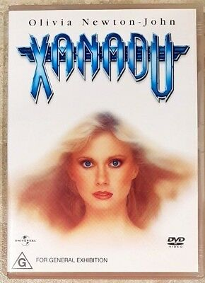Xanadu (Olivia Newton-John & Gene Kelly) DVD in GREAT condition (Region 4)