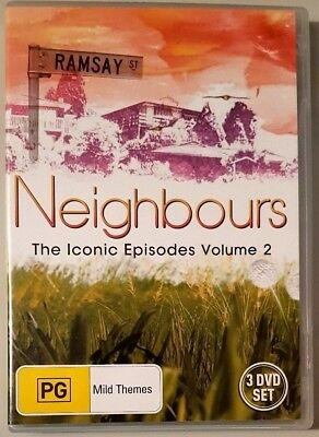 Neighbours - The Iconic Episodes Volume 2 (3 Disc Set) DVD (All Regions)