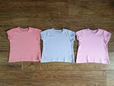 Set of 3 T-Shirts from Cherokee (Tesco) Orange, Lilac & Pink (Aged 3 - 4 Years)