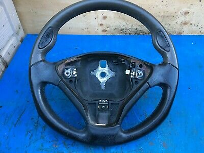 FIAT STILO 1.4 16v LEATHER STEERING WHEEL WITH AIRBAG (2001-2007)