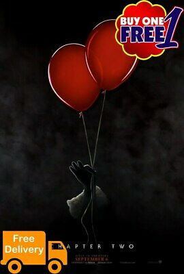 IT chapter 2 movie poster 2019  A3/A4