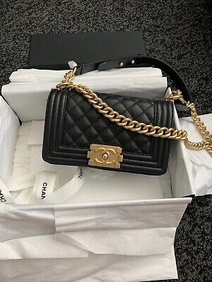 284fc3bc9215 CHANEL BLACK QUILTED 2.55 Lambskin Vintage Medium Classic Double ...