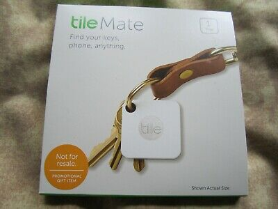Tile Mate Key Finder T3001 Bluetooth Key and Phone Tracker New + free key finder