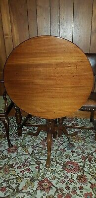 Antique Georgian Mahogany Tilt Top Table, English, late 18th/early 19th century