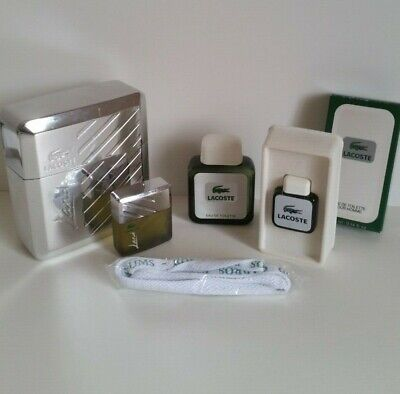 Flacon D'edt 2 1 Miniatures Lot Parfum Lacoste 25ml nmN80vwO