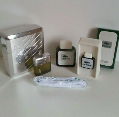 Parfum Lot D'edt 25ml Lacoste 1 Flacon 2 Miniatures Y6bf7gy