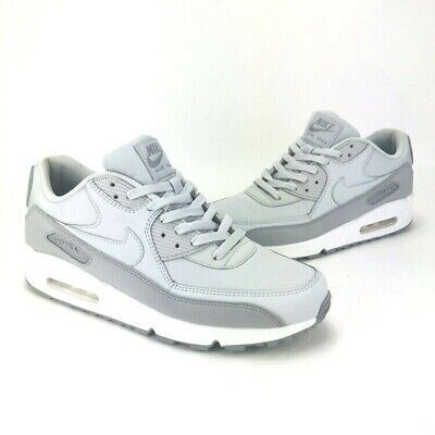 premium selection cce06 68c35 NIKE AIR MAX 90 ESSENTIAL Wolf Grey Pure Platinum Mens Size 10.5 537384-088