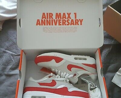 sale retailer 8f2c7 19d18 Nike air max 1 anniversary red UK8 with box excellent condition