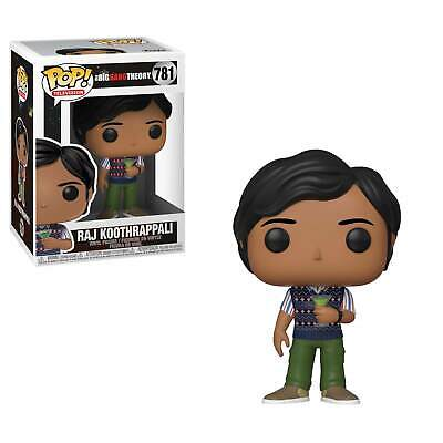 Figurine  FUNKO POP The Big Bang Theory - Raj Koothrappali - Neuf - Boîte