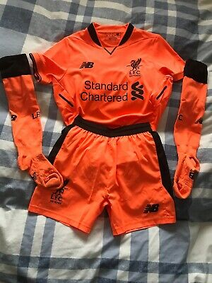 Youth Boys size S Shorts And size M Shirt - FIRMINO Liverpool 3rd Kit 2017-18