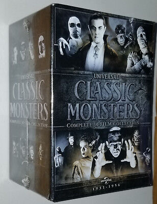 Universal Clásica Monsters 30 Película DVD Box Set Dracula Frankenstein Mamá