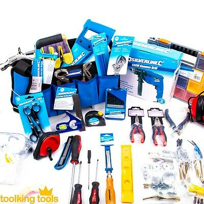 DIY Starter tool set, new home owner, with 500W Hammer drill