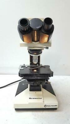 Fisher Scientific 12-563-321 Micromaster Microscope As Is for Parts 1 Objective