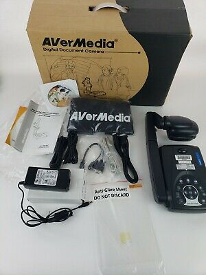 AVerMedia AVerVision 300i Portable Document Camera Overhead Projector Complete