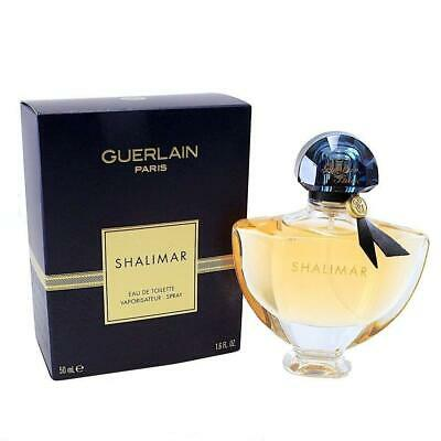 Guerlain Paris SHALIMAR Eau de Toilette Spray 1.6 oz. SEALED Women's Perfume NIB