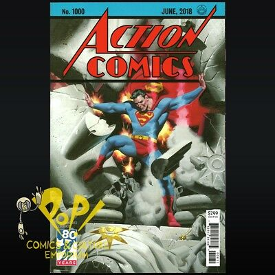 ACTION COMICS #1000 DC COMICS 1930s STEVE RUDE Historic Landmark Issue NM D042