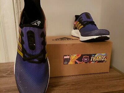 Adidas Marvel speedfactory AM4 THANOS END GAME FV7917 Ultra Boost Size 9 US MENS