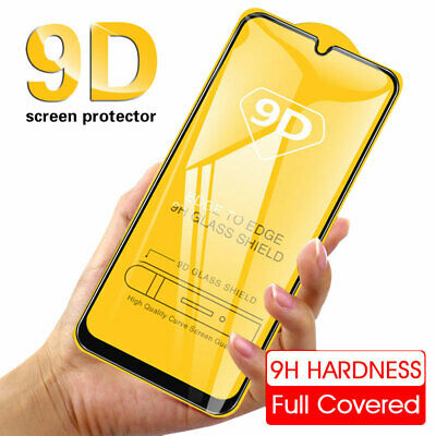 9D Full Cover Tempered Glass Screen Protector For Samsung A90 2019/A7 2018/A20e