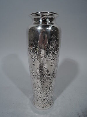 Tiffany Vase - 18097B - Antique Art Nouveau   American Sterling Silver