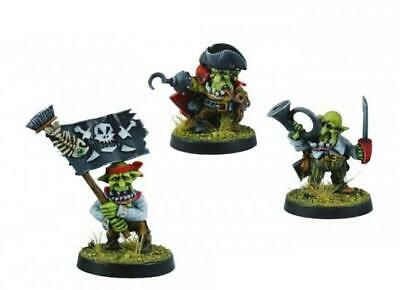 Kromlech Fantasy Goblin Mini Rotting Octopus Command Group Pack MINT