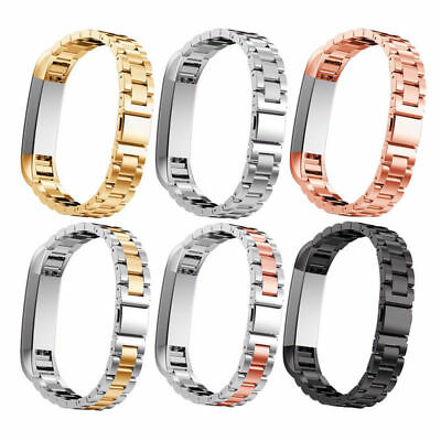 Stainless Steel Metal Bracelets Watch Bands For Fitbit Alta HR /Alta 4-colors