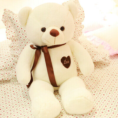 US 60CM Cute Big Plush Stuffed Teddy Bear Huge Soft 100% Cotton Toy Best Xmas