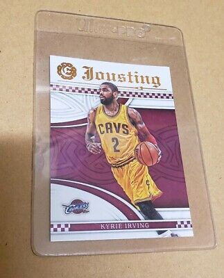 3aad3caaabbb KYRIE IRVING 2016-17 Panini Flawless Signature Prime 2 Color Patch ...