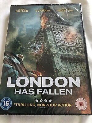 London Has Fallen New Sealed Dvd Comes With Fast And Free Delivery