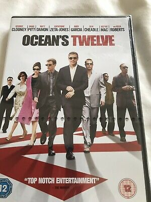 Oceans Twelve New Sealed Dvd With Fast And Free Delivery