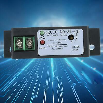 SZC10-NO-AL-CH Self Supply Adjustable Normally Open Current Sensing Switch 20mm