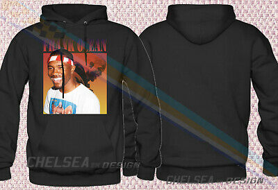 New Inspired By FRANK OCEAN BLOND Hoodie Merch Tour Limited Vintage Rare Gildan