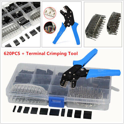 2.54mm Wire Jumper Housing Pin Connector SN01BM Terminal Crimping Tool 18-26AWG